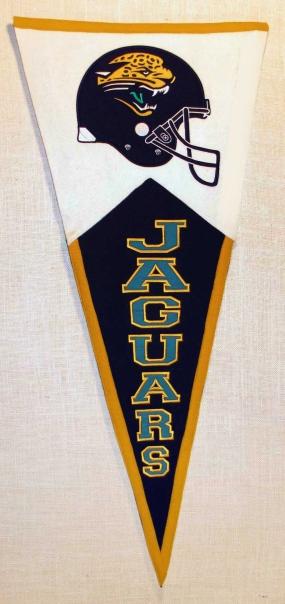 Jacksonville Jaguars Classic Pennant