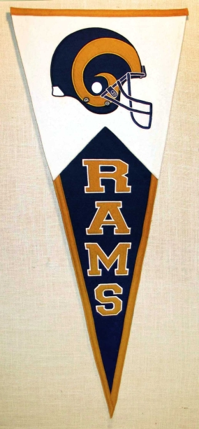 Saint Louis Rams Classic Pennant