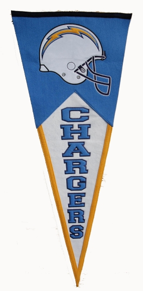 San Diego Chargers Classic Pennant