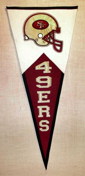 San Francisco 49ers Classic Pennant
