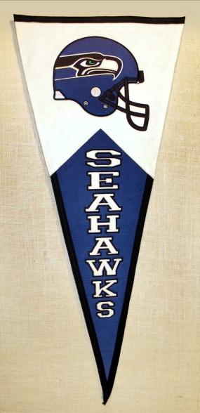 Seattle Seahawks Classic Pennant