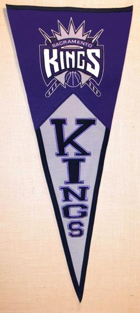 Sacramento Kings Classic Pennant