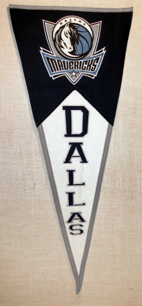 Dallas Mavericks Classic Pennant