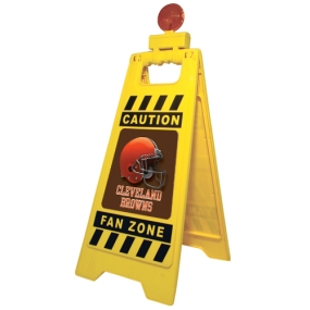 Cleveland Browns Fan Zone Floor Stand