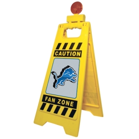 Detroit Lions Fan Zone Floor Stand