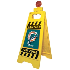 Miami Dolphins Fan Zone Floor Stand