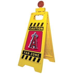 Anaheim Angels Fan Zone Floor Stand