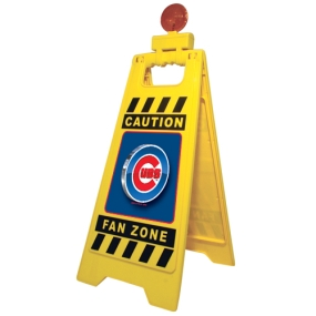 Chicago Cubs Fan Zone Floor Stand