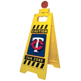 Minnesota Twins Fan Zone Floor Stand