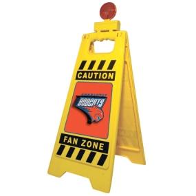 Charlotte Bobcats Fan Zone Floor Stand