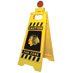 Chicago Blackhawks Fan Zone Floor Stand