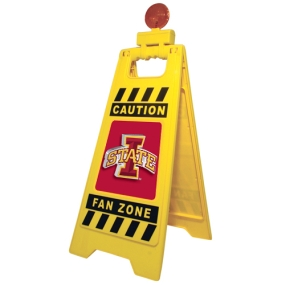 Iowa State Cyclones Fan Zone Floor Stand