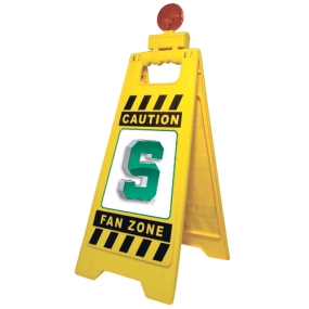 Michigan State Spartans Fan Zone Floor Stand