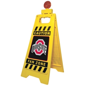 Ohio State Buckeyes Fan Zone Floor Stand