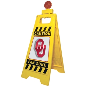 Oklahoma Sooners Fan Zone Floor Stand