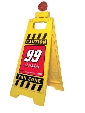 Carl Edwards Fan Zone Floor Stand