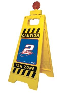 Kurt Busch Fan Zone Floor Stand
