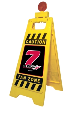Robby Gordon Fan Zone Floor Stand
