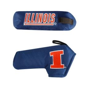Illinois Fighting Illini Blade Putter Cover