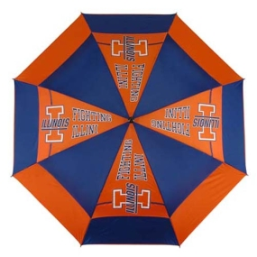 Illinois Fighting Illini Golf Umbrella