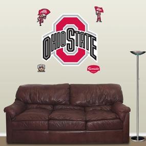 Ohio State Buckeyes Logo Fathead