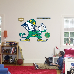 Notre Dame Fighting Irish Logo Fathead