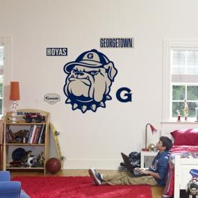 Georgetown Hoyas Logo Fathead