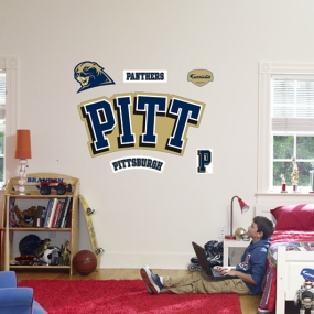 Pittsburgh Panthers Logo Fathead