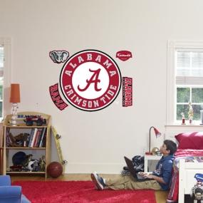 Alabama Crimson Tide Circle Logo Fathead