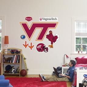Virginia Tech Hokies Logo Fathead