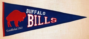 Buffalo Bills Throwback Pennant