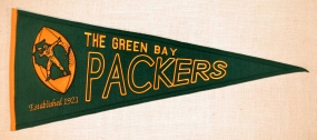 Green Bay Packers Throwback Pennant