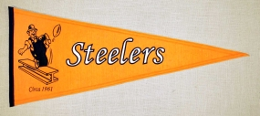 Pittsburgh Steelers Throwback Pennant