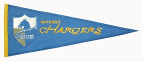 San Diego Chargers Throwback Pennant