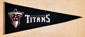 Tennessee Titans Throwback Pennant