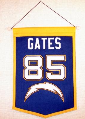 Antonio Gates Traditions Banner