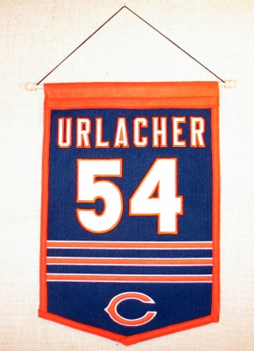 Brian Urlacher Traditions Banner