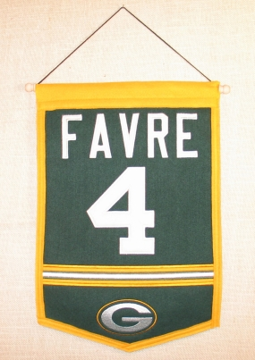 Brett Favre Traditions Banner
