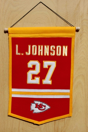 Larry Johnson Traditions Banner