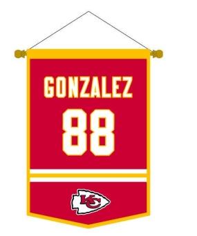 Tony Gonzalez Traditions Banner
