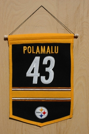 Troy Polamalu Traditions Banner