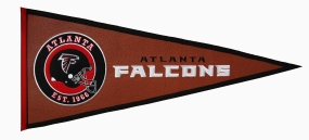 Atlanta Falcons Pigskin Pennant Traditions Pennant