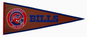 Buffalo Bills Pigskin Pennant Traditions Pennant
