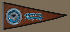 Carolina Panthers Pigskin Pennant Traditions Pennant