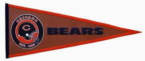 Chicago Bears Pigskin Pennant Traditions Pennant