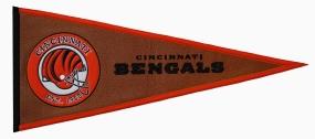 Cincinnati Bengals Pigskin Pennant Traditions Pennant