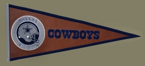 Dallas Cowboys Pigskin Pennant Traditions Pennant