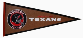 Houston Texans Pigskin Pennant Traditions Pennant
