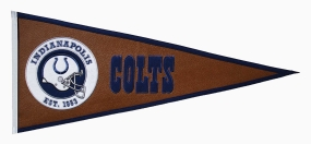 Indianapolis Colts Pigskin Pennant Traditions Pennant