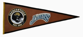 Jacksonville Jaguars Pigskin Pennant Traditions Pennant